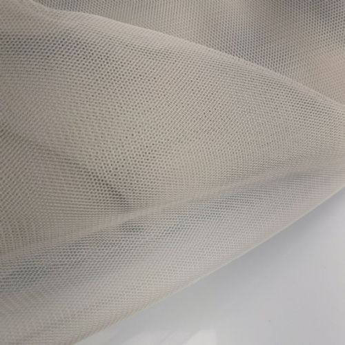 Soft Tull | Silver  / Grey 150 cm | Poly Tulle Blush